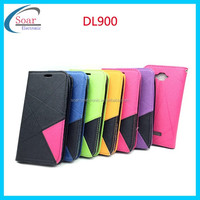 strong magnet flip case for Digicel DL900,strap Wallet PU Leather Flip Case Cover for Digicel DL900