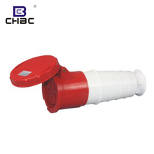 CHBC Custom 63A 5 Pins IP67 Red Colour Female Industrial Plug And Socket