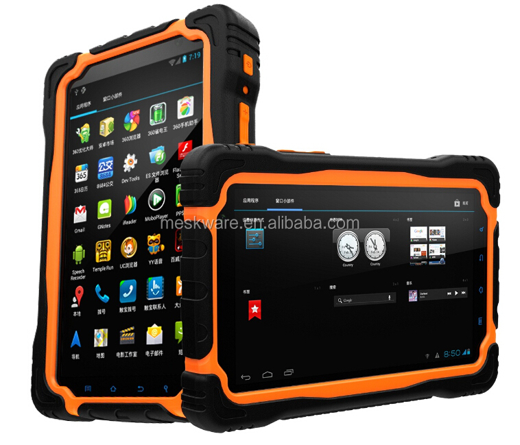 Rugged Android tablet pc with type C port