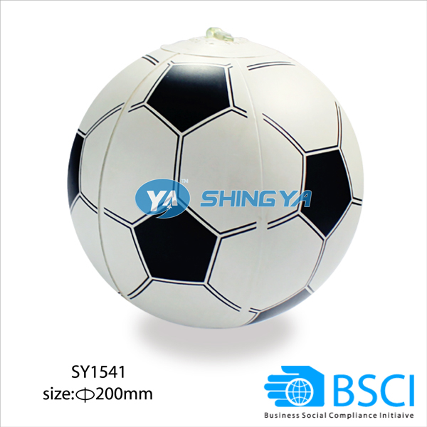 Top quality inflatable beach ball pvc inflatable soccer ball