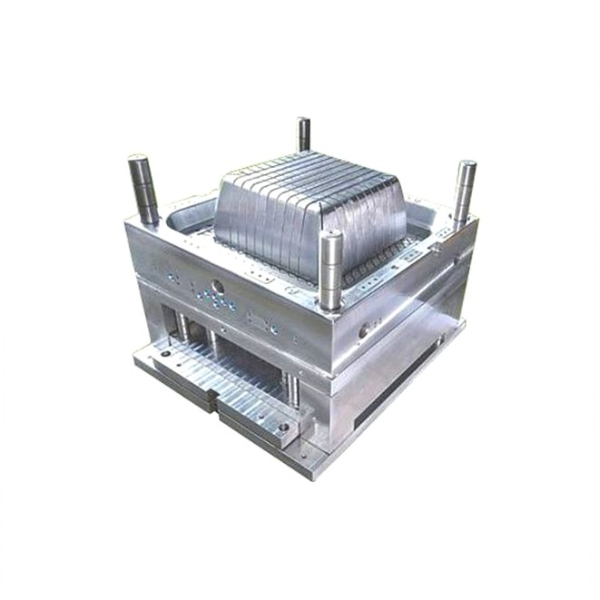 chinese Injection plastic shopping basket mould manufacture and making