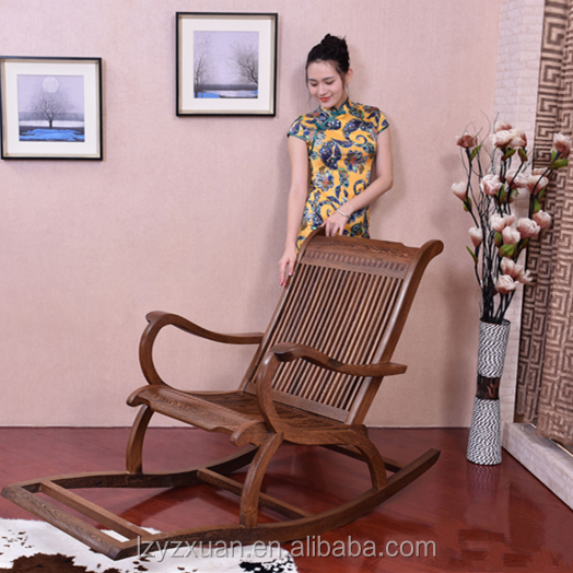 High Quality Antique Style Wooden Rocking Chairs for Wholesale