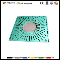 BMC SMC FRP Composite Tree Protect Cover /Cast Iron Tree Grate