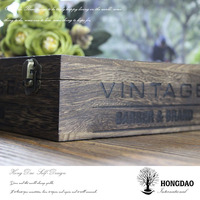 HONGDAO wooden box making,pine wood,wood phone case