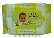 vitamine E alcohol free organic baby wet wipes/ 20 years experience