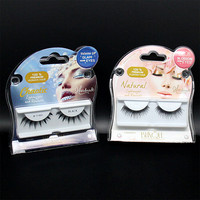Custom logo printed plastic eyelashes packaging/cheap clear vaccum tray for eyelash