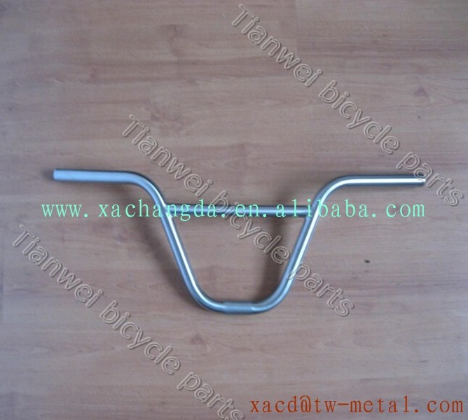XACD design kinds of shape titanium BMX handlebar custom bike handle bar according to client requirement light weight handlebar