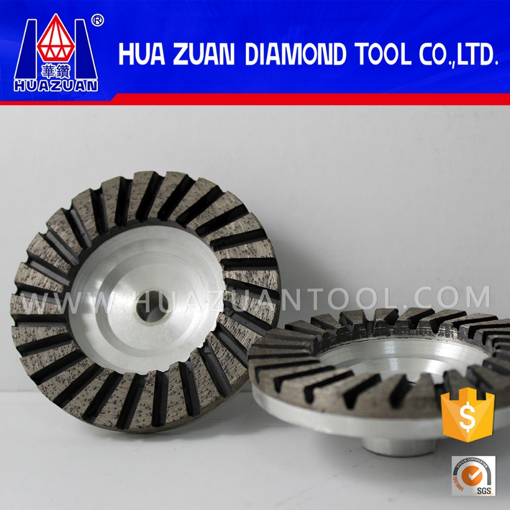Stone cup grinding wheel from Huazuan Diamond Tools