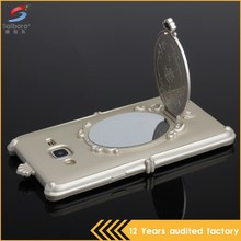 Fast delivery latest high quality mirror back cover case for samsung mobile covers