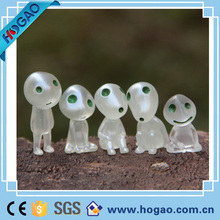 resin cartoon boy and girl figurine for home decoration china supplier