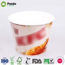 Custom Printed Disposable Kfc Family Paper Fried Chicken Bucket