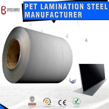 PET laminated metal steels in hairline series used to produce LED TV Back Cover