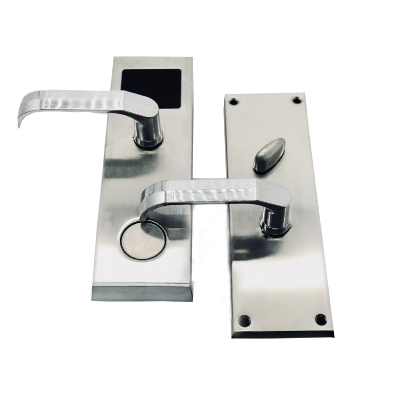 Waterproof outdoor rfid stainless card hotel door lock system with software management