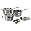 Triply Clad Stainless Steel Pot Sets