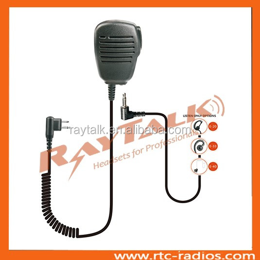 Hand Held radio transceiver With 3.5mm Remote Speaker Microphone