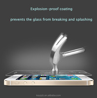 9H 2.5D Tempered Glass explosion-proof Screen Protector for iPhone5/5S