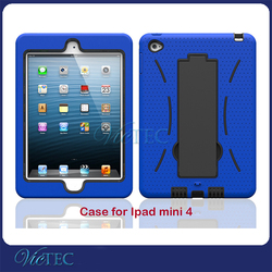 Kid proof tablet case silicone protective case For iPad Mini 4 Case