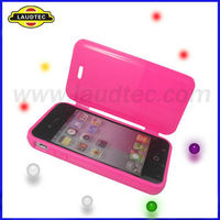 For iPhone 4 Front + Back Cover Case,Silicon Case