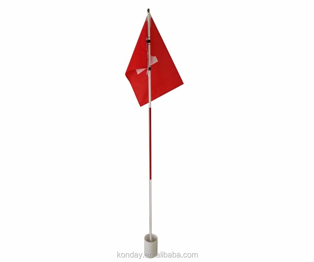 Practice Golf Putting Green Flags With Cup Backyard Golf Flagstick