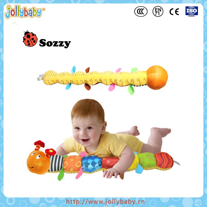 plush caterpillar toys stuffing insect toys soft toys for children