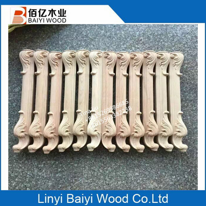 CNC wood parts furniture wood table legs