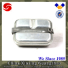 2 pcs set Stainless Steel canteen mess tin military