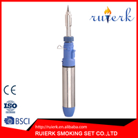 Nice Quality Portable Blue Butane Gas Creme Brulee Kitchen Torch Lighter with Jet Flame Windproof EK-061
