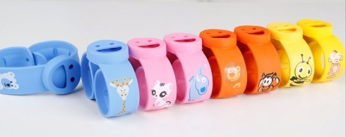 Anti mosquito bug insect repellent slap wristband Deet free safe