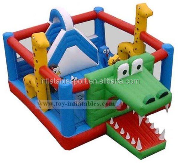 High sale inflatable crocodile bouncers