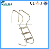 Factory outlet agility swimming pool metal super ladder