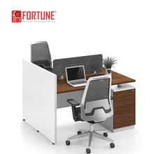 Newest design low office partition/office cubicle for 4 person(FOH-6C-51-04)