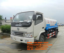 dongfeng 5000 liters water tank truck price
