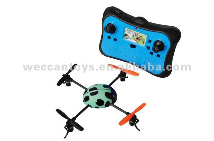 new!!! 4 Channel Mini Ladybird Quadcopter RC helicopter