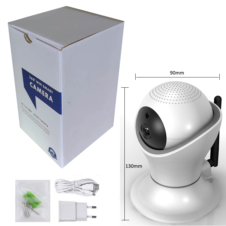 New Style Football Cup 2.0Megapixels Security 1080P P2P WiFi IP CCTV HD Camera