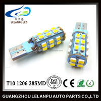 New Product High Quality auto Lamp Super Bright LED T10 1206 28SMD pcb car led interior lamp accessories cars