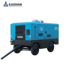 12m3/min small diesel screw portable air compressor