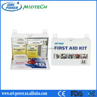 Promotional CE ISO FDA approved hot sale practical buildings workshop office first aid kit