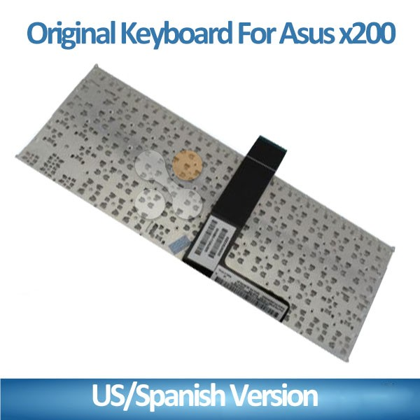 New High quality laptop keyboard for Asus x200 Laptop Keyboard with spanish/us version