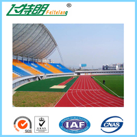 Rubber Running Track /Sandwich System Runing Track,Synthetic Running Track