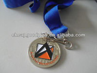 Military customed high quality souvenir medal with ribbon