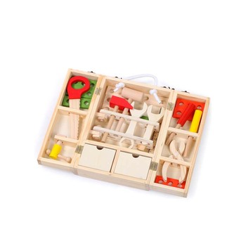 ot sale train toys set chinese puzzle wood 3d wooden puzzle for kids
