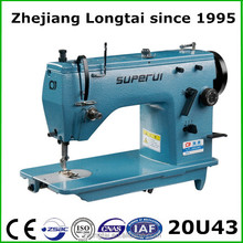 high speed 20U industrial zigzag sewing machine for clothes and shoes hot sale