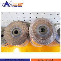 stainless steel polishing flexible flap disc