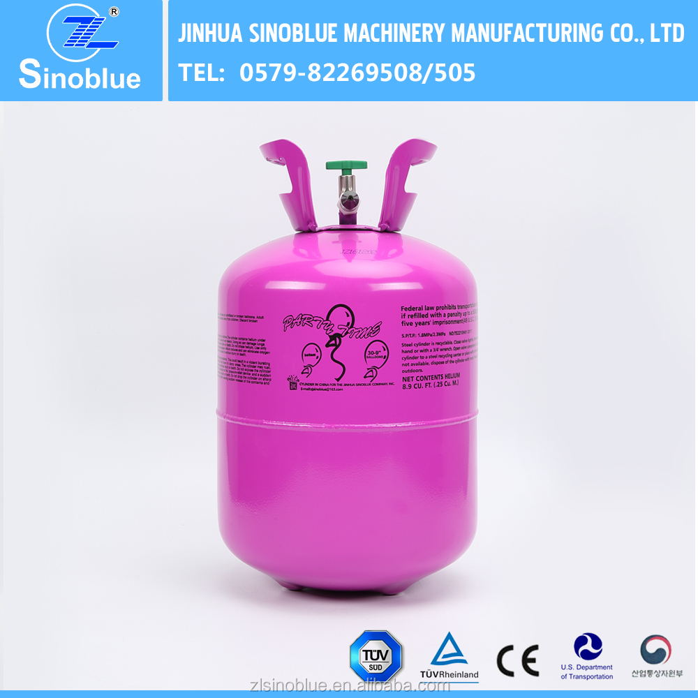 Low Price 13.4L Low Price Small Disposable Helium Gas Cylinder