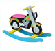 New Design Hot Sale Funny Baby Motorcycle Riding Rocking Horse Toy