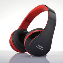 2016 High Fidelity Surround Sound Headphones Wireless Stereo Headsets 3.0+EDR Headphone color Headset With Mic 8252