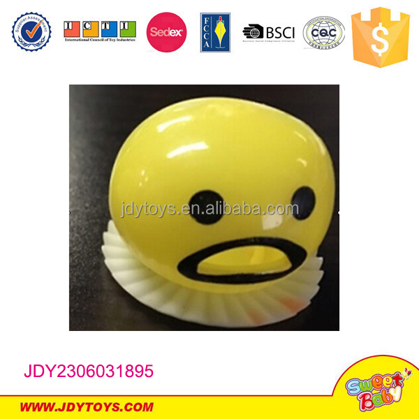 top popular funny egg toys Anti stress ball squishy Jokes Funny Toy Egg Vent Toy Practical Jokes