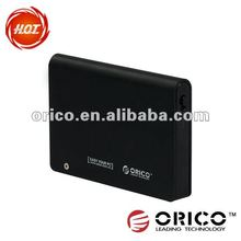 USB2.0+e-SATA 2.5'' external HDD enclosure