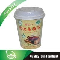 honey instant red cup package ginger tea