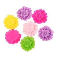 Embellishments Findings Flower DIY Resin Cabochon